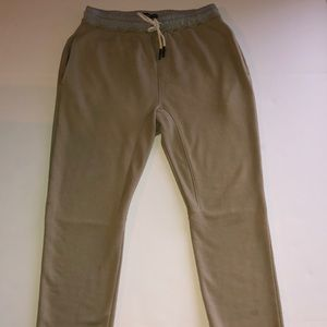 Jaywalker tan sweats